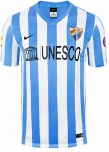 Malaga 2015 maillot foot domicile 14-15