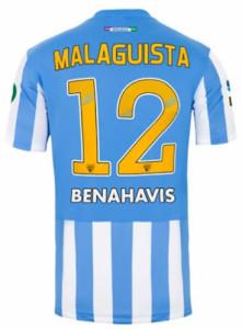 Malaga 2015 maillot foot domicile 14-15 dos
