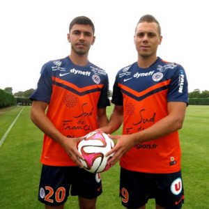 Montpellier 2015 HSC maillot domicile football