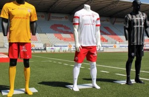 Nancy 2015 maillots de foot 2014-2015