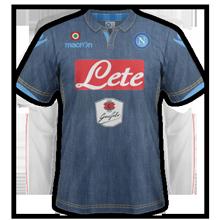 Naples 2015 maillot exterieur foot jean