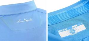 Naples col du maillot domicile 2014 2015
