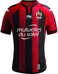Nice 2015 maillot domicile