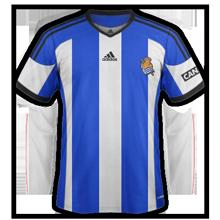 Real Sociedad 2015 maillot domicile