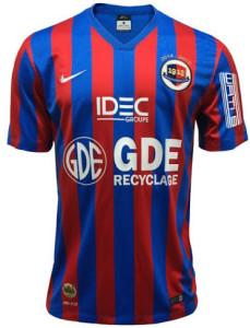 SM Caen 2015 maillot domicile foot