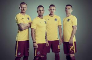 Sparta Prague 2015 maillot foot domicile