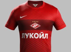 Spartak Moscou 2015 maillot domicile