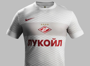 Spartak Moscou 2015 maillot exterieur