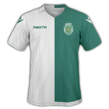 Sporting 2015 troisieme maillot third 14 15
