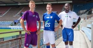 Strasbourg 2015 maillots de football 14 15