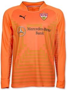 Stuttgart 2015 maillot foot gardien orange