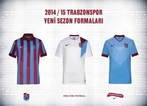 Trabzonspor 2015 maillots de football