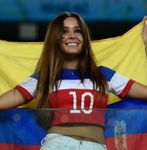 USA hottest world cup fans 2014 babe Etats-Unis maillot exterieur 2014 coupe du monde