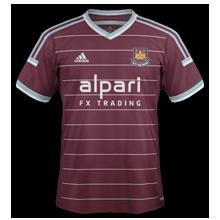 West Ham 2015 maillot domicile