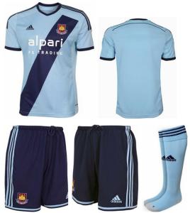 West Ham 2015 maillot exterieur foot