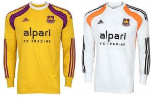 West Ham 2015 maillots de gardien 14 15