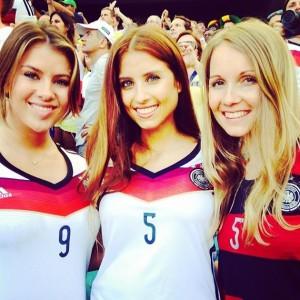 allemande femme maillot allemagne 2014 exterieur