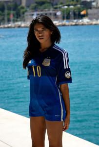 argentine fille sexy maillot exterieur coupe du monde 2015