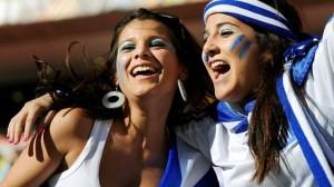 grecque jolie fille maillot foot Grece coupe du monde 2014