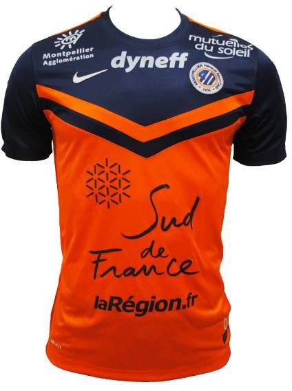 Maillots mhsc 2014 2015 - Logo montpellier foot ...