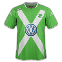 wolfsbourg 2015 maillot domicile