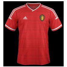 Belgique 2015 maillot domicile foot