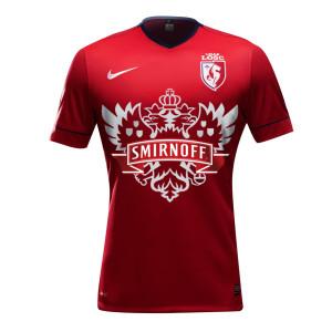 le maillot de football Lille Smirnoff LOSC
