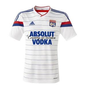 Maillot de football Lyon Absolut Vodka Olympique Lyonnais