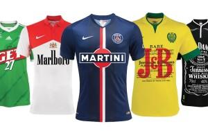 Maillots Ligue 1 sans loi Evin