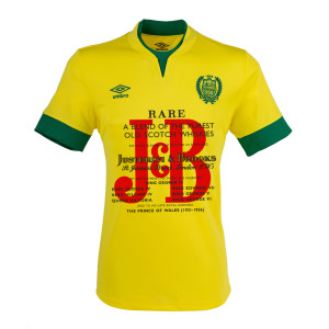 Maillot foot Nantes JB whisky