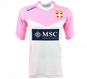 maillot domicile ETG Evian 2015 football