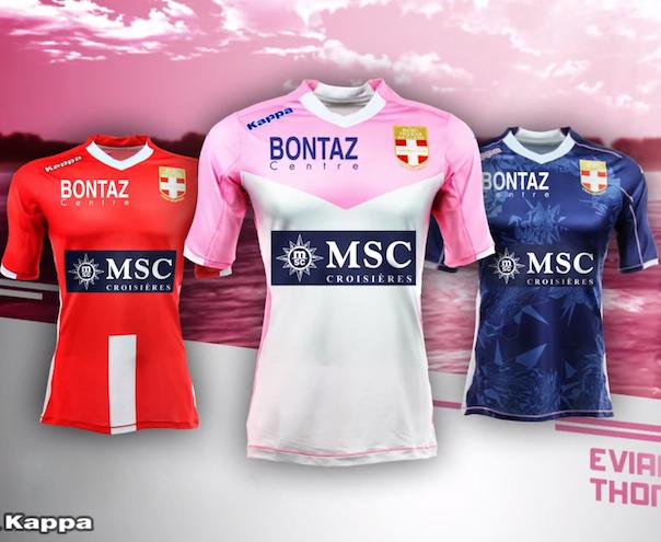 maillots de football Evian 2015 ETG