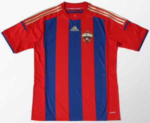 CSKA Moscou 2015 maillot domicile de foot