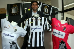 Charleroi 2014 2015 maillots de fooball