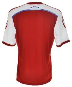 Paraguay dos maillot domicile 2014 2015