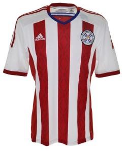 Paraguay maillot domicile 2014 2015