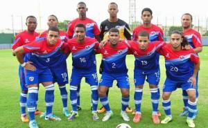 Republique dominicaine 2015 maillot domicile