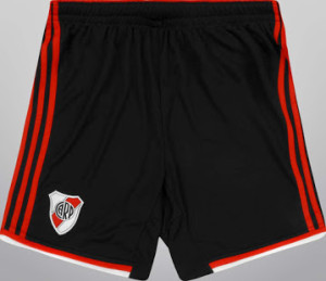 River Plate 2015 short domicile