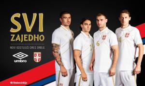 Nouveau Serbie 2014 2015 maillot exterieur