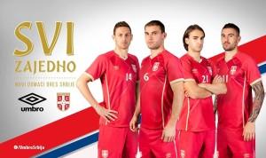 Serbie 2015 maillot foot exterieur 15 16