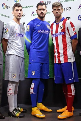 Atletico Madrid sponsor chausettes foot