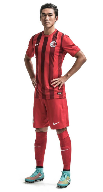 Hong Kong 2015 tenue foot domicile football