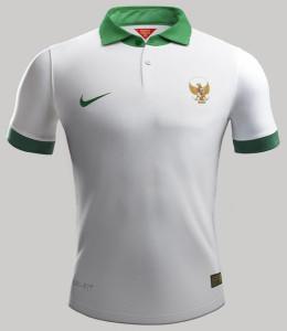 Indonésie 2015 maillot foot domicile 2014 2015 2016