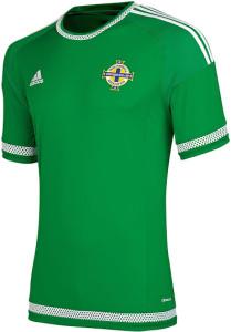 Irlande Du Nord 2015 maillot domicile 2015 2016