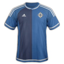 Irlande Du Nord 2015 maillot foot exterieur