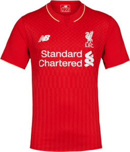 Liverpool 15-16 maillot domicile Reds LFC