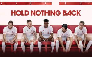Liverpool 2016 maillot de foot exterieur 15-16