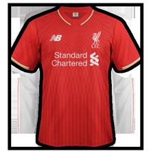 Liverpool 2016 maillot domicile 2015 2016