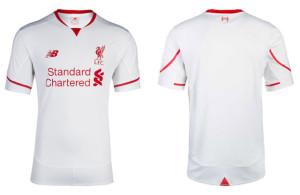 Liverpool 2016 maillot exterieur 15-16 officiel