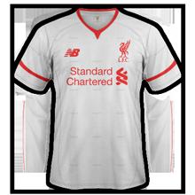 Liverpool 2016 maillot exterieur NB